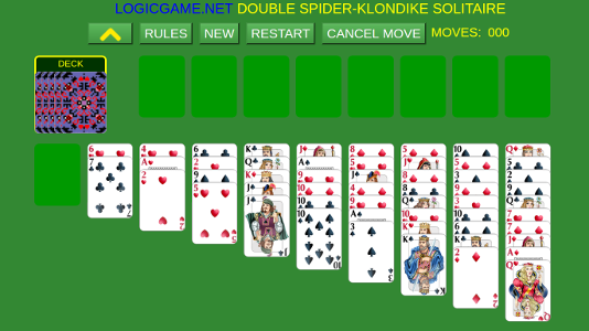 DOUBLE SPIDER-KLONDIKE SOLITAIRE