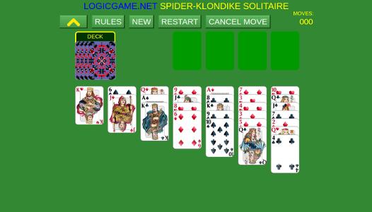 Spider Klondike